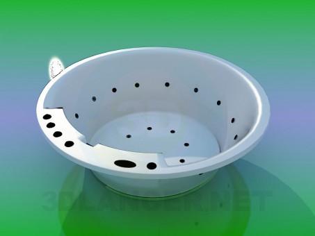 modelo 3D Bañera de hidromasaje - escuchar