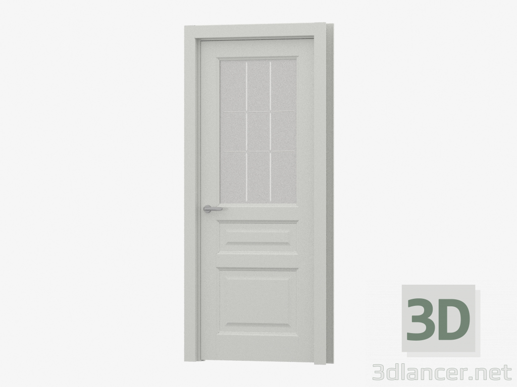 3d model The door is interroom (78.41 G-P9 ML) - preview