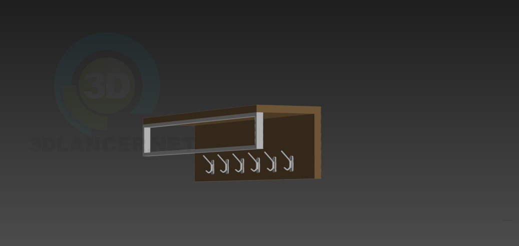 3d modeling Hanger in the hallway model free download