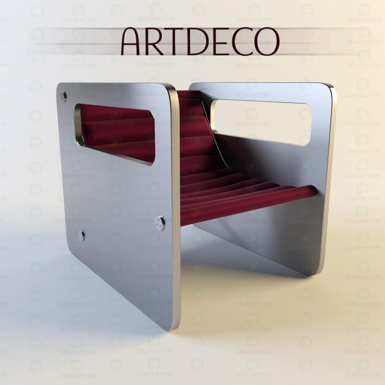 descarga gratuita de 3D modelado modelo Arte Deco