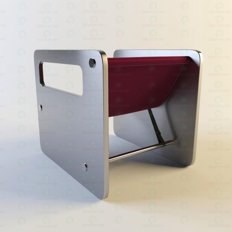 modelo 3D Arte Deco - escuchar