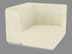 Corner element of the sofa Cadillac