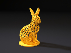 Rabbit voronoi