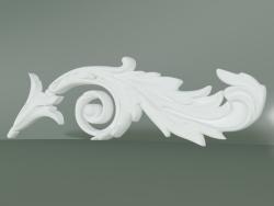 Élément de décoration en stuc ED018-4