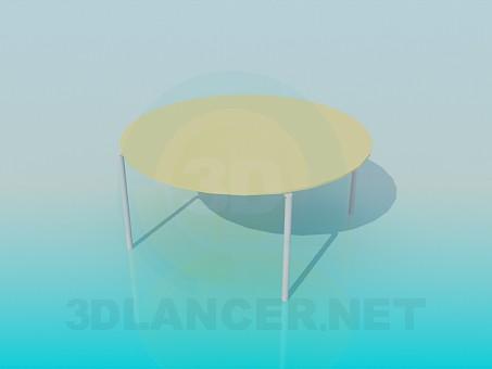 3d модель Круглый стол – превью