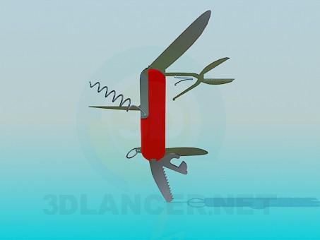 3d model Pocket knife - preview