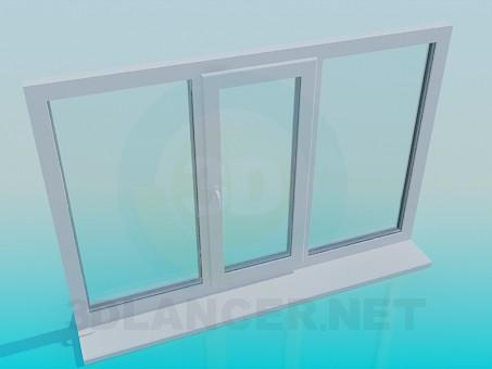 3d модель Окно – превью