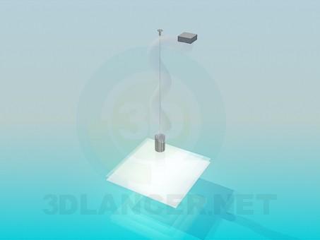 modelo 3D La luminaria - escuchar