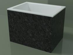 Vasque à poser (01R122101, Nero Assoluto M03, L 48, P 36, H 36 cm)