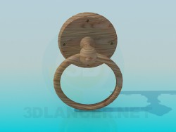 Door handle ring