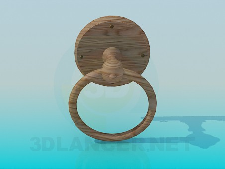 3d model Door handle ring - preview