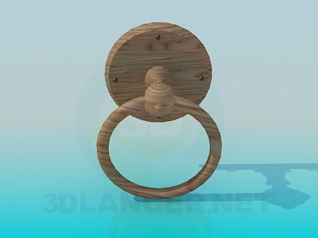 3d modeling Door handle ring model free download