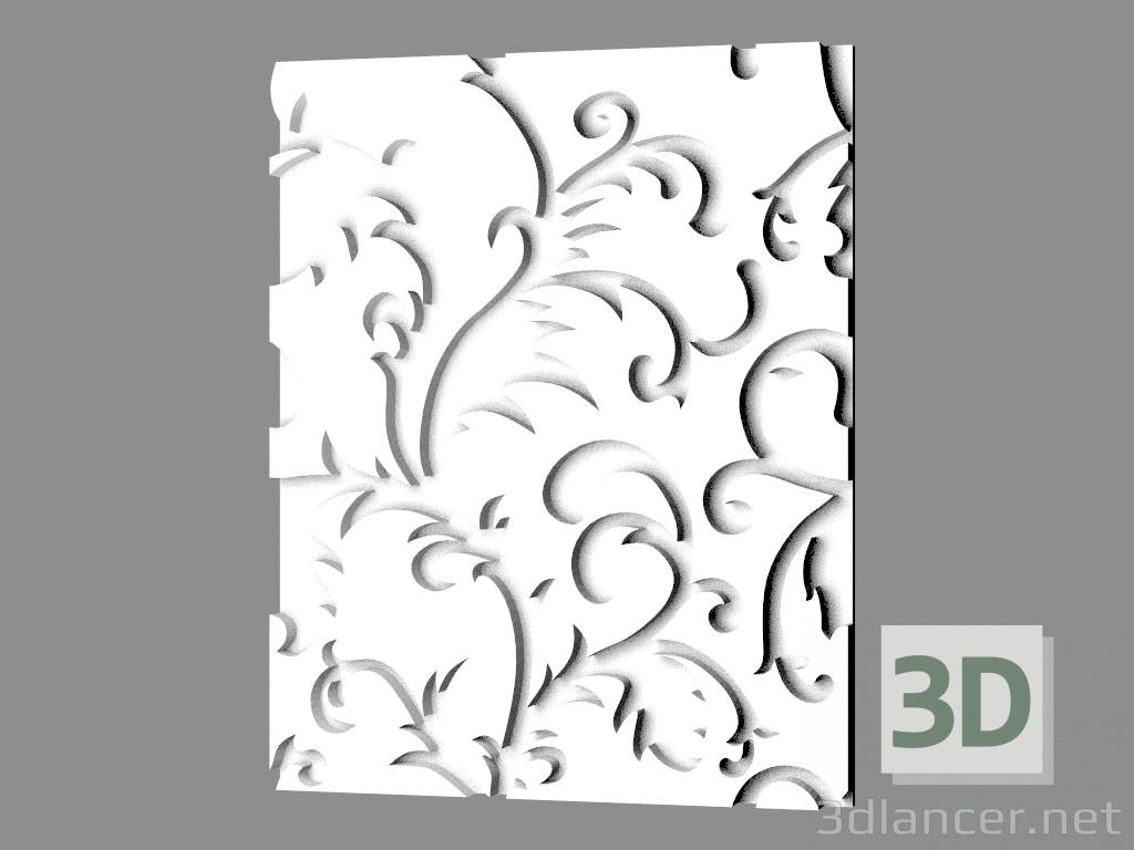 Wall Decoration 3d Model Free Download : D model gypsum wall panel art manufacturer