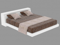 Cama doble Logan (205x264x70h)