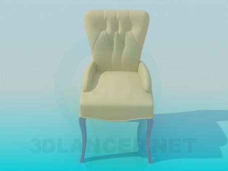 3d model Silla - vista previa