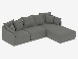 Modular sofa SOHO 2820mm (art. 803-805-814)