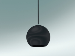 Pendant lamp Topan (VP6, Ø21cm, H 19cm, Black Blue)
