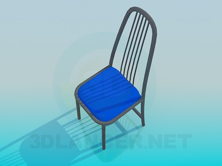 3d modeling Chair with twigs on the back model free download