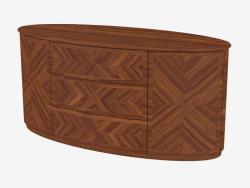 Cupboard oval (art. JSL 3205)