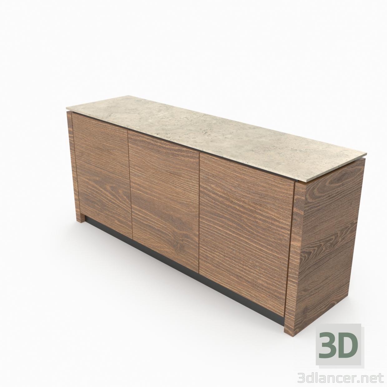 3d Chest Calligaris mag plus model buy - render