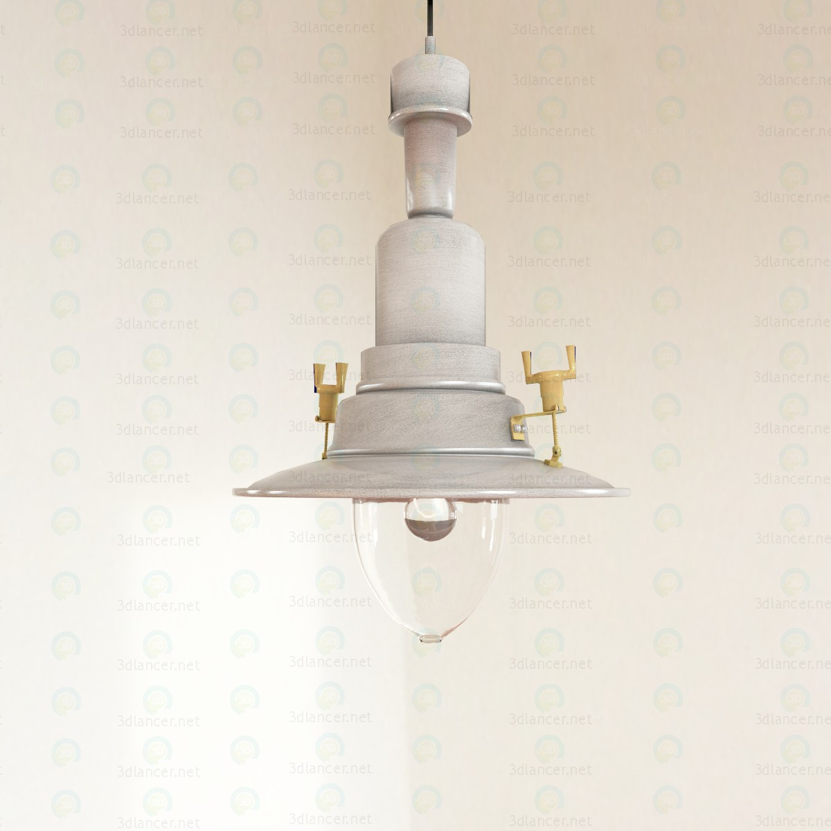 3d модель Підвісний світильник Оттава – превью