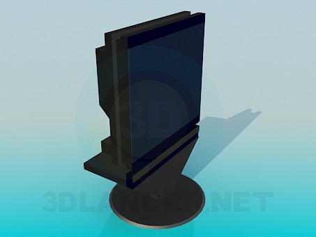 3d model Stand with TV - preview