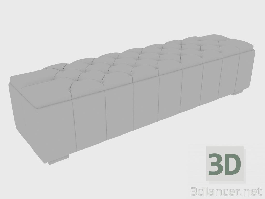 3 डी मॉडल बेंच नेपोलियन बेंच (225x55xh45) - पूर्वावलोकन