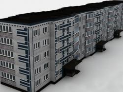 Modern panel house