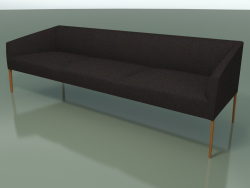 Sofa triple 2713 (Teak effect)