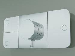 Shower faucet, 3 outlets (45713000)