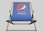 Beach chair Pepsi