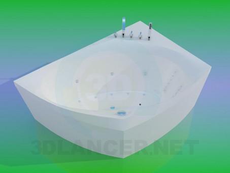 3d моделирование Ванна модель скачать бесплатно