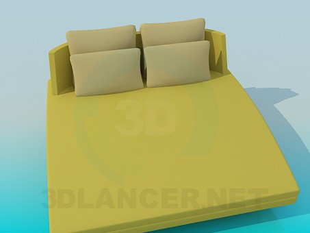 3d modeling Sofa-bed model free download