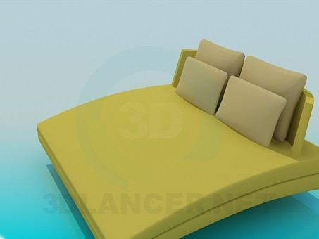 3d model Sofa-bed - preview