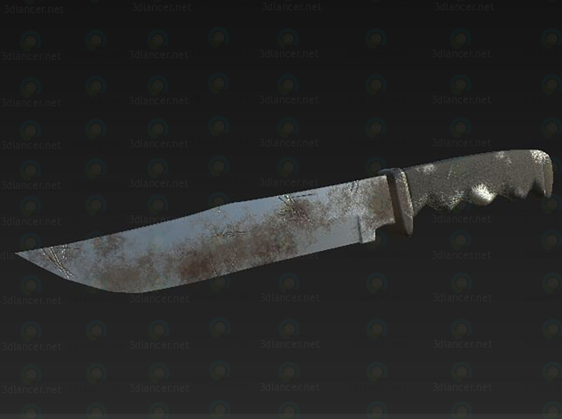 3d Knife model buy - render