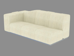 The end element of the Cadillac sofa (300)