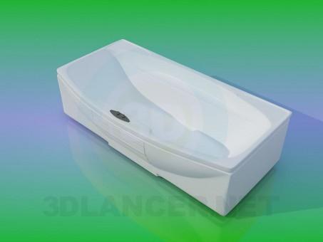3d modeling Bath model free download