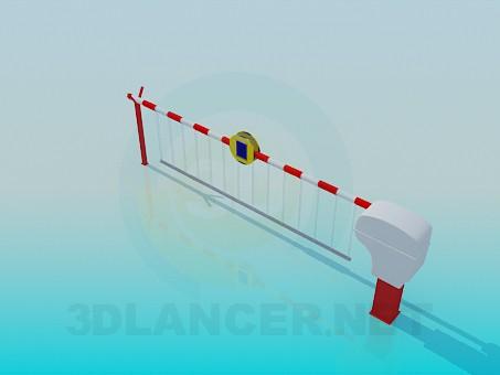 descarga gratuita de 3D modelado modelo Autopista de peaje