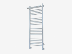 Heated towel rail Bohemia with a shelf (1200x400)