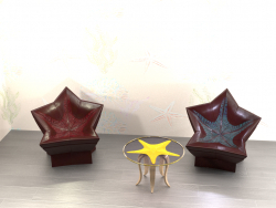 "Set of furniture ""Trio"""