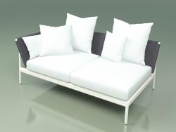 Módulo de sofá derecha 004 (Metal Milk, Batyline Grey)