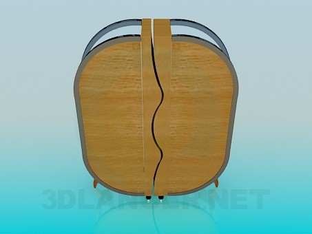 3d model Sideboard in a modern design - preview