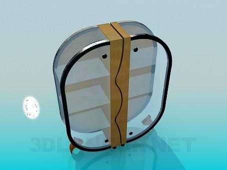 3d модель Сервант в современном дизайне – превью