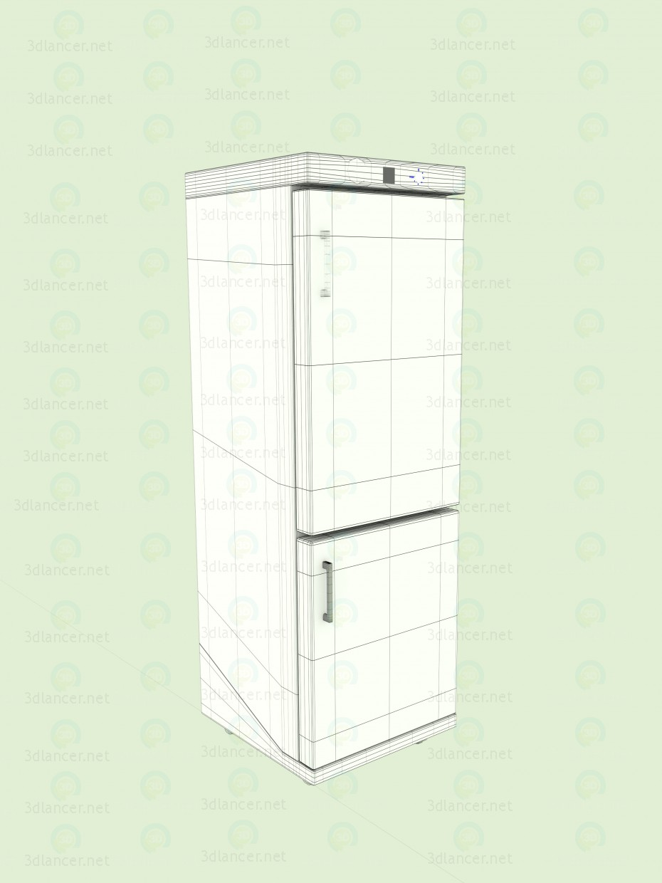 3d Fridge model buy - render