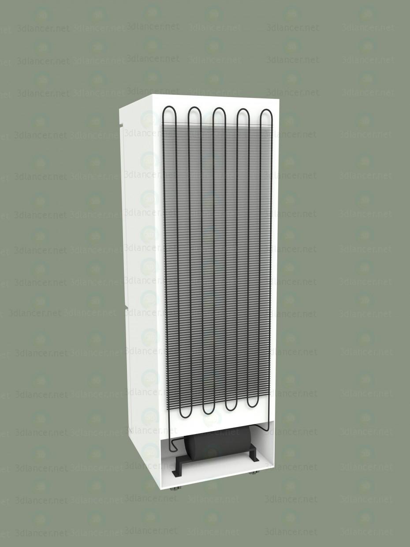 3d холодильник модель купить - ракурс