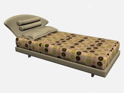 Bed AIRON (single right)