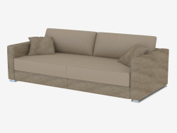 Double Sofa Leather Cassandra (220)