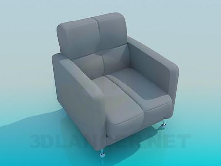 Ofis koltuğu model ücretsiz 3D modelleme indir