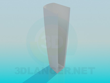 3d model Leg for wash-basin - preview