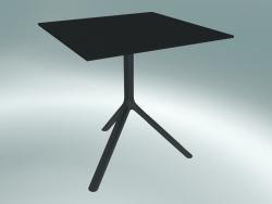 Tavolo MIURA (9580-01 (70x70cm), H 73cm, nero, nero)
